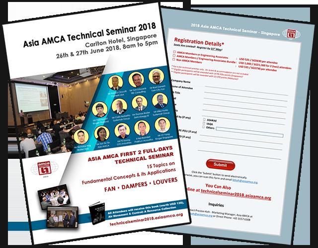 Air Movement & Control Technical Seminar 2018 Registration Brochure